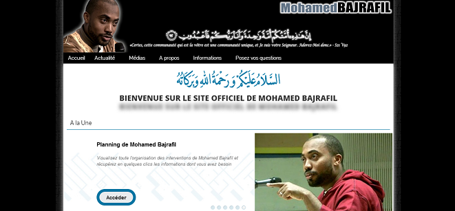 site officiel Mohamed Bajrafil